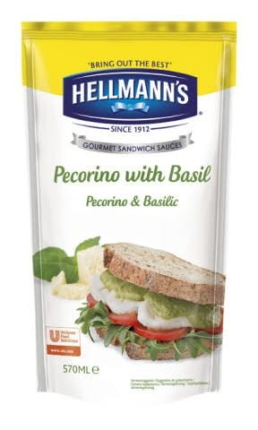 Hellmann's Sauce Sandwich Pecorino & Basilic -