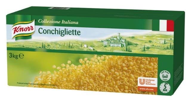Knorr Collezione Italiana Deegwaren Conchigliette -