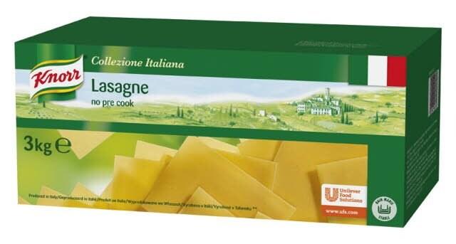 Knorr Collezione Italiana Deegwaren Lasagne -