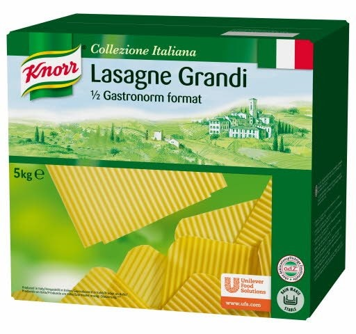 Knorr Collezione Italiana Deegwaren Lasagne Grandi -