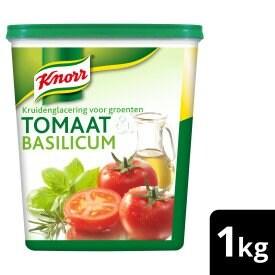 Knorr Kruidenglacering Tomaat & Basilicum -
