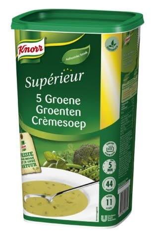 Knorr Supérieur Crème de 5 Légumes Verts -