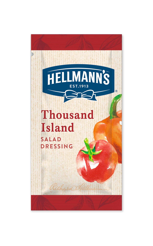 Hellmann's Thousand Island Dressing 50 x 30 ml -