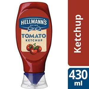 Hellmann's Tomato Ketchup squeeze 430 ml -