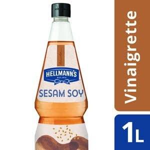 Hellmann's Vinaigrette Soja aux gaines de Sésame grillées -