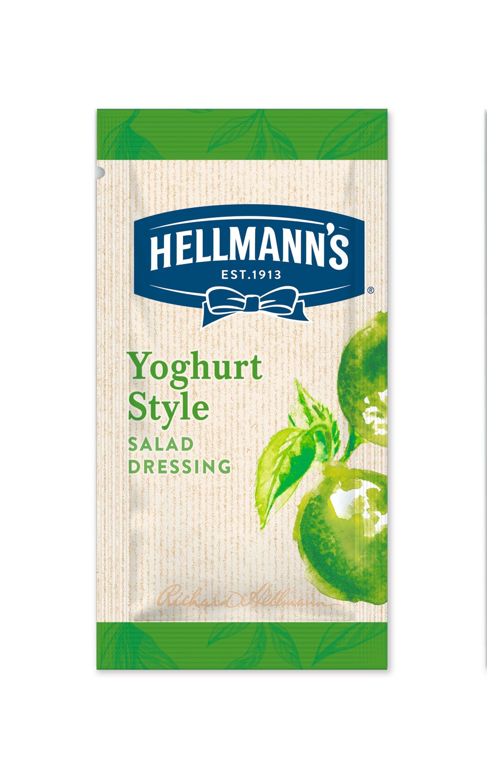 Hellmann's Yoghurt Style Dressing 50 x 30 ml -