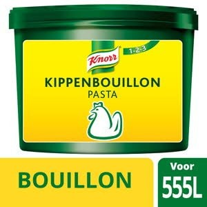 Knorr 1-2-3 Kippenbouillon Pasta  -