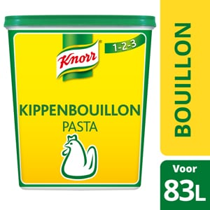 Knorr 1-2-3 Bouillon de Poule en Pâte - Goût puissant, sans gluten