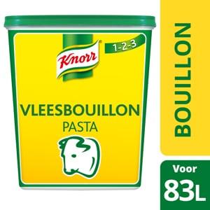 Knorr 1-2-3 Vleesbouillon Pasta  - Ontdek Knorr 1-2-3 Vleesbouillon in pasta, voor een krachtige smaak