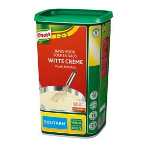 Knorr Witte Crème zoutarm -