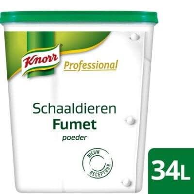 Knorr Professional Fonds déshydratés Fumet de Crustacés -