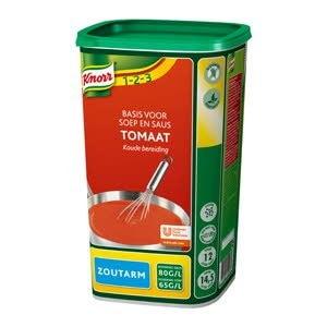 Knorr Tomaat Basis Soep & Saus zoutarm -