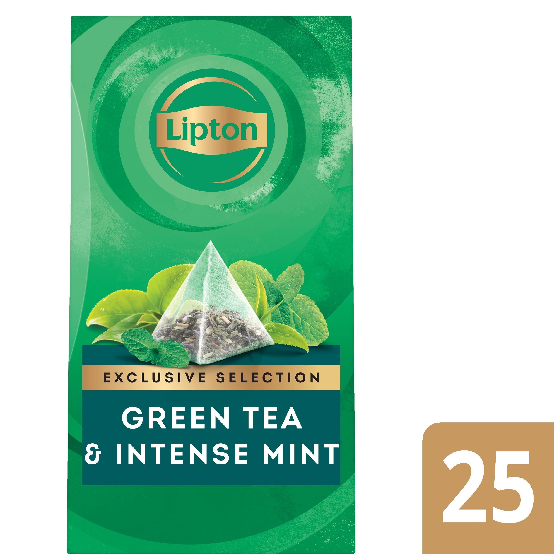Lipton Exclusive Selection Thé Vert Menthe Intense -