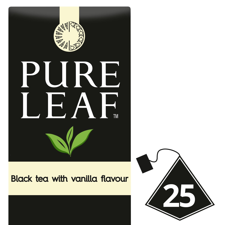 Pure Leaf Black Vanilla BIO - 25 zakjes -
