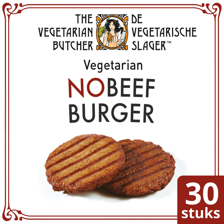 The Vegetarian Butcher NoBeef Burger 2.4 kg - Vegetarische hamburger, gemaakt met de beste ingrediënten