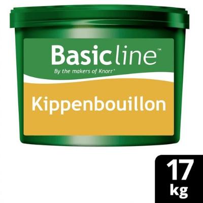 Basicline Bouillon de poule en poudre 17Kg -