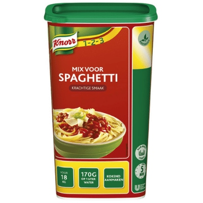 Knorr Mix voor Spaghetti -