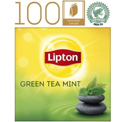 Lipton Everyday Thé Vert Menthe 100 sachets -